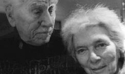 Jorma and Beatrice, Kaukonen Mill Valley, CA — 1996