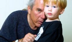 Dad with Kalevi